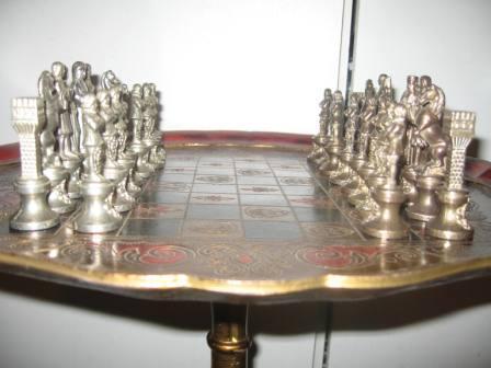 Брелок золотистая шахматная фигура