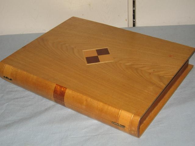 Шахматы-книжка СССР. Художественная резьба по дереву
