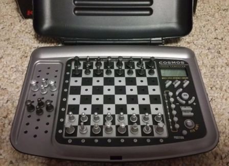 Saitek Kasparov cosmos chess computer