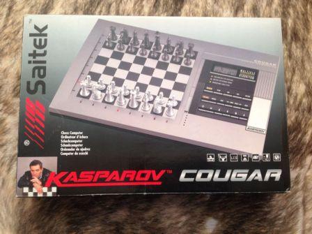 Saitek Kasparov cougar - шахматный компьютер