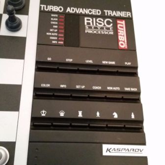 Saitek Kasparov Turbo Advanced Trainer - шахматный компьютер