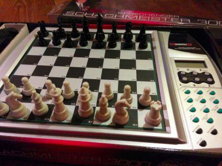 Millennium Sprechende Schachmeister 3000 - шахматный компьютер