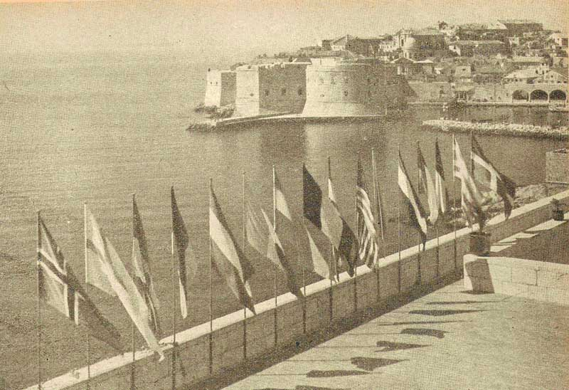 «Шахматный» Дубровник 1950 г.