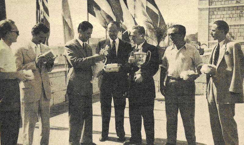 Победители. Югославская команда – олимпийские чемпионы 1950-го года