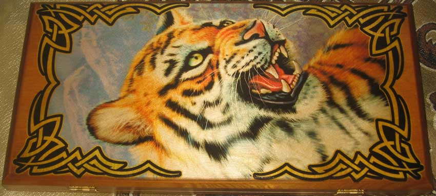 Backgammon Tiger
