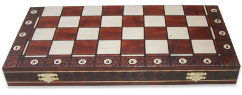 Шахматы с доской Амбассадор
