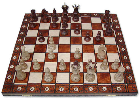 Chess with an Ambassador board